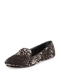 Saint And Libertine Fierce Calf Hair Loafer Leopard