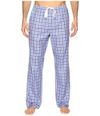 Vineyard Vines Wainscott Plaid Lounge Pants Tomato Check Men's Pajama Red