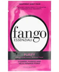 Borghese Pre Sale Fango Essenziali Sheet Mask Purify Only At Macys No Color