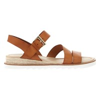 Mint Velvet Raven Cleated Sole Sandals Brown