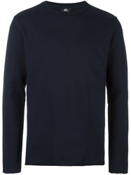 Paul Smith Ps By Crew Neck Sweatshirt Blue