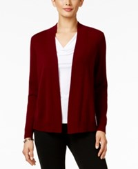 Charter Club Petite Cashmere Open Front Cardigan Only At Macy's Cc Crantin