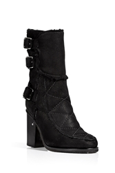 Laurence Dacade Shearling Lined Ankle Boots