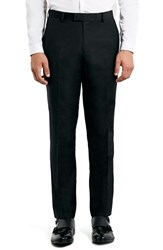 Men's Topman Black Slim Fit Suit Trousers
