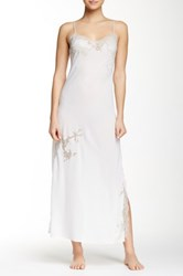 Natori Muse Lace Gown White