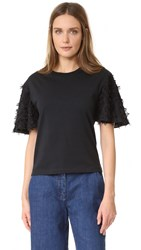 See By Chloe Embellished Tee Black