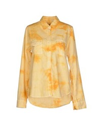 Franklin And Marshall Shirts Ocher