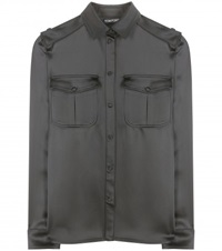 Tom Ford Satin Shirt Black