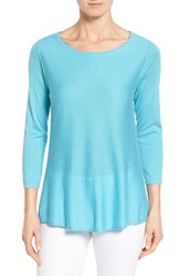 Women's Nordstrom Collection Silk And Cashmere Pullover