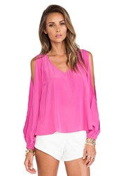 Lovers Friends Daydream Blouse Pink