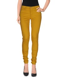 Levi's Red Tab Trousers Casual Trousers Women Yellow