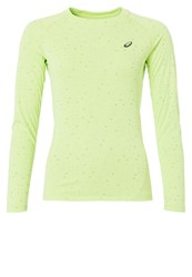 Asics Lightshow Long Sleeved Top Pistachio Green