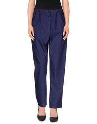 Tela Trousers Casual Trousers Women Slate Blue