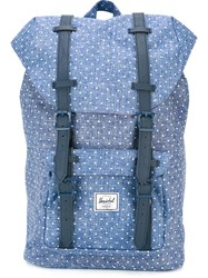 Herschel Supply Co. 'Little America' Polka Dot Backpack Blue