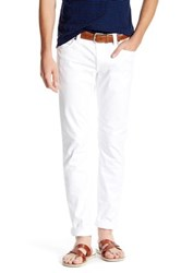 Fidelity Jimmy Tailored Slim Fit Pant White
