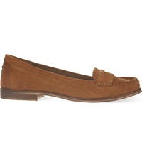 Miss Kg Mallori Suede Loafers Tan