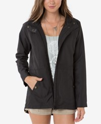 O'neill Juniors' Wendy Hooded Utility Jacket Black
