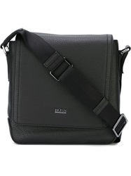 Boss Hugo Boss Flap Messenger Bag Black