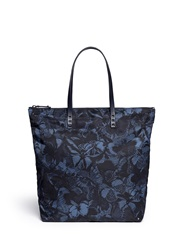 Valentino 'Night Camubutterfly' Shopper Tote