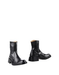 Tremp Ankle Boots Black
