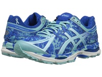 Asics Gel Cumulus 17 Br Electric Blue Aqua Splash Blue Ribbon Women's Running Shoes