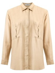Egrey Long Sleeves Shirt Nude And Neutrals
