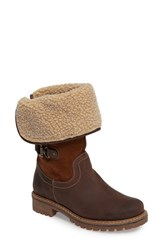 Bos. And Co. Women's Hillory Waterproof Boot Expresso Wood Leather
