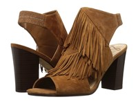 Sam Edelman Elaine Saddle Kid Suede Leather Women's Shoes Beige