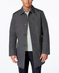 Dkny Men's Darryl Slim Fit Raincoat Gray