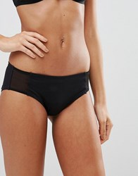Weekday Stephanie Mesh Hipster Briefs Black