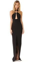 Solace London Kali Gown Black