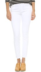 7 For All Mankind The Skinny Jeans Clean White