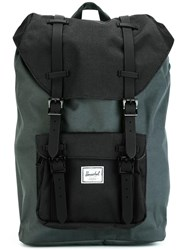 Herschel Supply Co. Double Strap Fastening Backpack Grey