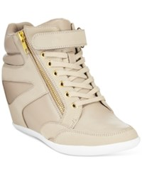 Thalia Sodi Azar High Top Wedge Sneakers Only At Macy's Women's Shoes