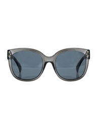 Pixie Market Dark Grey Retro Sunglasses