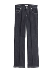 Red Valentino Cropped Flared Jeans Blue