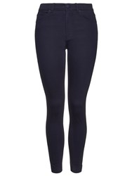 Whistles Navy Ankle Length Skinny Jeans