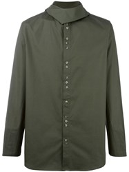 By Walid 'Cravat' Shirt Green