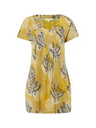 White Stuff Clementine Jersey Tunic Yellow