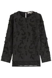 Vanessa Bruno Embroidered Cotton Tunic Black
