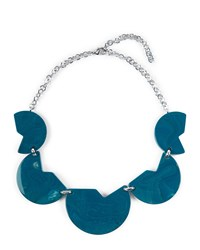 Jaeger Resin Cut Out Disc Necklace