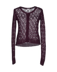 Manoush Cardigans Deep Purple