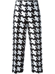 Dsquared2 'Babe Wire' Patterned Trousers Black