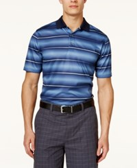 Greg Norman For Tasso Elba Men's Sublimated Stripe Performance Polo Only At Macy's