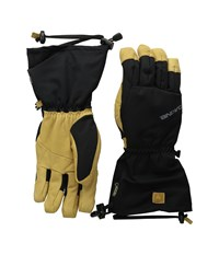 Dakine Rover Glove Black Tan Extreme Cold Weather Gloves