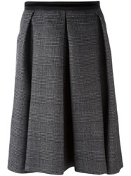 N 21 No21 Pleated Skirt Grey