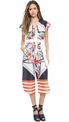 Clover Canyon Turning Flower Jumpsuit Multi