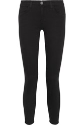 Current Elliott The High Waist Stiletto Skinny Jeans Black