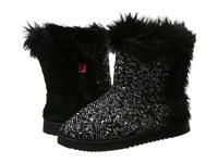 Foot Petals Technogel Boot Slipper Black White Tweed Women's Boots