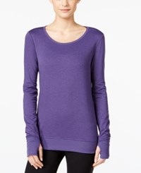 Ideology Open Back Top Only At Macy's Deep Water Heather